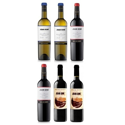 LOTE JOAN GINÉ 6 VINOS