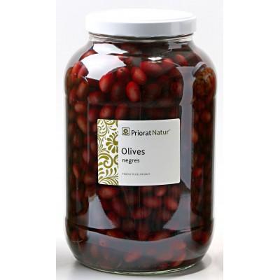Black empeltre olives 2.5kg.
