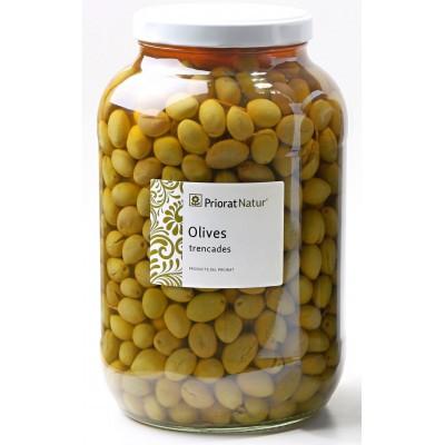 Broken olives 2.5kg.