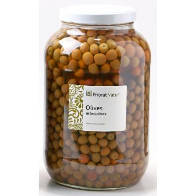 Aceitunas arbequinas 2.5kg.