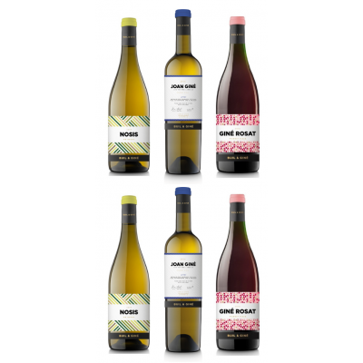 6 BOTTLES WHITE AND ROSE WINES