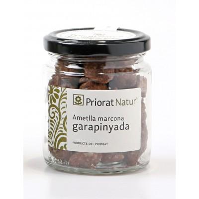 Caramelized marcona almond...